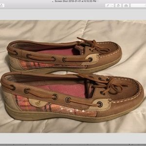 Sperry Topsiders boat shoes women's size 7